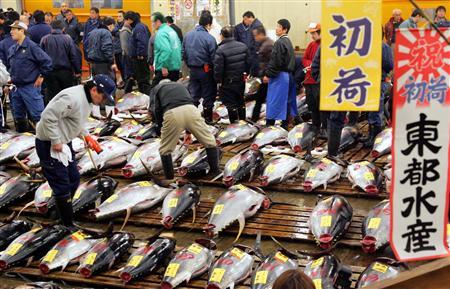 Mercado mayorista de Tsukiji