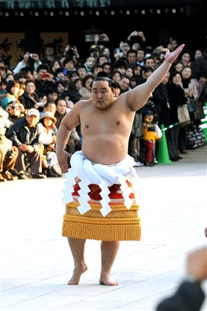 Yokozuna Asashōryū Akinori